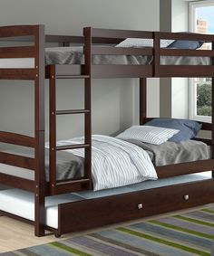 Cappuccino Bunk Beds for Girls or Boys