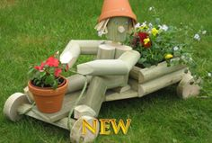 Flower Pot Ideas | Flowerpot Garden Gifts | Flowerpot Men Garden Ornaments