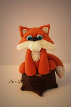 Cake Decorating Store Shelby Twp Mi : Squirrel, Clay sculptures and Foxes on Pinterest