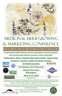 Medicinal Herb Growing & Marketing Conference in Washington