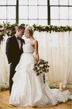 white striped #weddingdress @weddingchicks