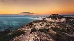 Befor sunrise in Alicante