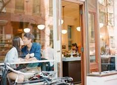 Image result for taking pictures of couple in coffee shop through window