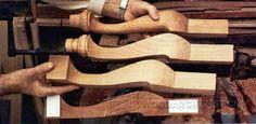 Shaping Cabriole Legs - Furniture Legs Construction Techniques | WoodArchivist.com