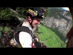 awesome Wing Suit jumps with Erik Roner