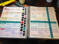 3 Monkeys throwing around some....PAPER!!!: Decorating your planner- Erin Condren's teacher's planner review Using Stamps and Washi tape!