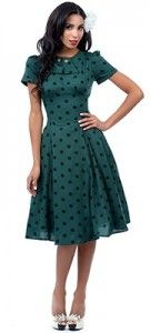 1940s Swing Dance Dress - Hard to find style!  #swingdance #1940s