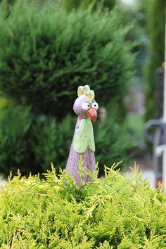 Gartenfiguren - Hahn Heribert - ein Designerstück von ThoLiKo bei DaWanda