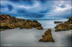 Dusk at Trigg Beach, Perth