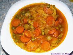 Cocinando en Murcia: Muslos de pollo en salsa