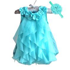 c95fe17fbe9d0d US $8.99 9% OFF Meisjes Jurk 2017 Zomer Chiffon Party Dress Baby 1 Jaar  Verjaardag Jurk Baby Meisje Kleding Jurken & Hoofdband Vestidos in Meisjes  Jurk 2017 ...