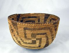 Antique Pima Indian Basket Whirling Logs | Early 20th century