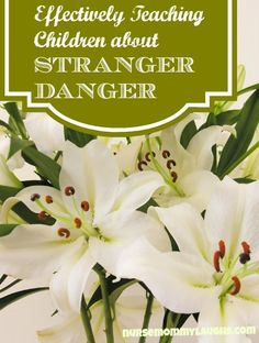 """NEW POST: """"Effectively Teaching Children about STRANGER DANGER"""" most parents don't do this correctly. Find out if you do  http://nursemommylaughs.com"""
