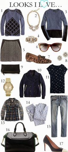 CHIC COASTAL LIVING: Looks I Love... fall fashion