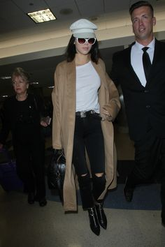 Dealing with airport security checks is a drag, but Kendall Jenner may have found the perfect solution.