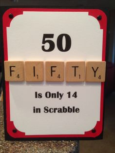 50th Birthday Card                                                       …