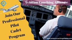 Aviation Coaching Alliance is providing the one of the best Pilot Cadet Program for his students at the very affordable price. Our training is cover with latest equipment, Industry expert and latest syllabus. To know more about the classes, please visit our website. Training Courses, Training Programs, Commercial Pilot Training, Pilot Career, Aviation Training, Personality Assessment, Interview Preparation, Career Development, Coaching