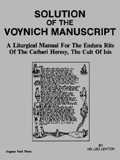If only they knew how vexatious and difficult the Voynich is. Know-it-all Ph.D.s will not crack the Voynich, only a passionate amateur can do it.