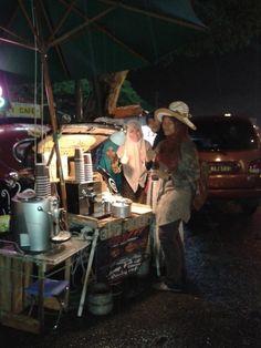 a car cafe coffee