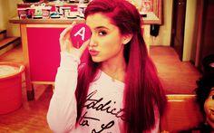 Ariana Grande <3 I love her hair it's RED like mine :P