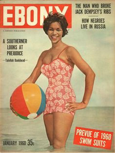 Ebony, a monthly magazine for the African-American market, was founded by John H. Jet Magazine, Black Magazine, Life Magazine, Vintage Magazines, Vintage Ads, Ebony Magazine Cover, Magazine Covers, Pin Up, Coloured Girls