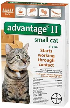 Bayer Advantage II Flea Control Treatment for Cats >>> Find out more about the great product at the image link. #Kitty