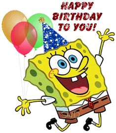 16 Best Spongebob Birthday Images Anniversary Greeting Cards