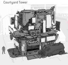 Halo 5: Guardians Concept Art by Kory Lynn Hubbell | Concept Art World