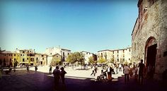Plaça de Espanya #Besalú #Spain