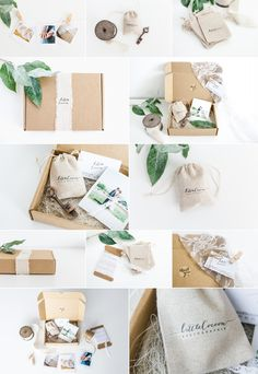 Packaging Site / Illustrations