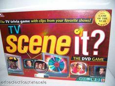 Mattel ©2005 TV SCENE IT? The DVD Game on eBay!