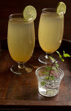 Shikanji or Shikanjvi as we call it at home is a famous & traditional lemonade of north india.