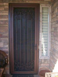 Home Security Doors Phoenix Installation | Security Screen Doors http://www.jlcenterprises.com/security-doors-phoenix-arizona.htm