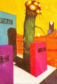 70s Sci-Fi Art Science Fiction Art, Science Art, Aliens, Psychedelic Space, 70s Sci Fi Art, Japanese Monster, Alien Creatures, Sci Fi Horror, Weird Science