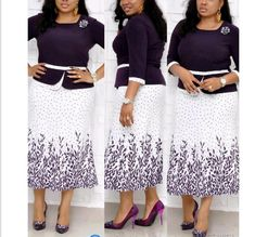 Foreverfad printed fake two-piece dress with bright diamond brooch decoration women dress 98103 Size:L,XL,XXL,XXXL Color:Purple,Blue Size Chart is as below African Maxi Dresses, African Fashion Ankara, Latest African Fashion Dresses, African Print Fashion, Women's Fashion Dresses, Fashion Bags, Womens Fashion, Steps Dresses, Mothers Dresses