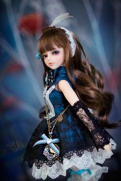 bjd doll (Thea) from Angell-studio もっと見る Beautiful Barbie Dolls, Pretty Dolls, Anime Dolls, Blythe Dolls, Lolita Fashion, Fashion Dolls, Cute Baby Dolls, Kawaii Doll, Gothic Dolls