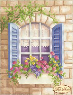 Items similar to Window to London Beaded Embroidery kit DIY Beadwork Hand embroidery Beading set Beaded Embroidery Beaded needlepoint Kit avec perle on Etsy – Handstickerei Cross Stitch House, Cross Stitch Kits, Cross Stitch Designs, Cross Stitch Patterns, Beaded Embroidery, Cross Stitch Embroidery, Embroidery Patterns, Hand Embroidery, Machine Embroidery