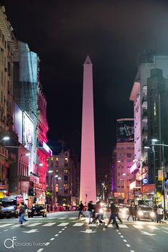 Obelisco de Buenos Aires, Argentina - Arquitetura e lugares | Osvaldo Furiatto Fotografia e Design