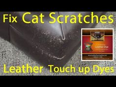 Beautiful How To Fix Cat Scratches On Leather   Leather Dye Repair Kit. Can Be  Purchased At: Http://www.leathertouchupdye.com/leather Dye Repair Kit/ |  Pinterest ...