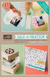 Stampin' Sarah! Stampin' Up! Sale-A-Bration promotion live January 28th. Choose a fab freebie for every £45 spent until March 31st. Gorgeous Stampin' Up! exclusives. Please pop by my online store for more info on these lovely products: http://stampinsarah.stampinup.net