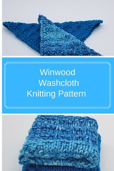 Using a slip stitch gives great detail to the Winwood dishcloth/washcloth pattern. Easy step-by-step instructions. Dishcloth Knitting Patterns, Knit Dishcloth, Loom Knitting, Knitting Stitches, Knitted Washcloths, Yarn For Sale, Crochet Cross, Knitting For Beginners, Slip Stitch