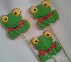 Sapo pepe Fiesta Party, Cookies, Rey, Ideas Para, Skinny Pancakes, Sweets, Frog Activities, China Mugs, Frogs