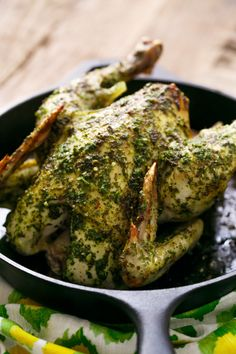 Chimichurri Roasted Chicken: moist, flavorful, and perfect for dinner tonight!