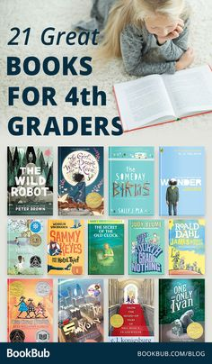 21 Books That Will Spark a Love of Reading in Your Grader : These 21 books are great for graders! This list of beloved classics and exciting new favorites will have graders enthralled! Book Suggestions, Book Recommendations, Books For Boys, Childrens Books, 4th Grade Books, Fourth Grade, 4th Grade Book List, Kids Reading, Close Reading