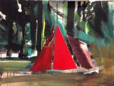 Red Tent - 60x80 - 2014