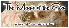 How to make Sugar Coral :The Magic of the Sea Filler Coral Sample Cake Decorating Tutorial by Mercedes Strachwsky Decorating Cakes, Cake Decorating Tutorials, Cookie Decorating, Cake Tutorial, Diy Tutorial, Waterfall Cake, Sugar Mold, Decorator Frosting, Cake Templates