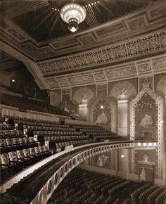 Looking across the Auditorium at the Paramount Theatre, Newcastle Luxury Decor, Auditorium, Pilgrim, Newcastle, Digital Image, Louvre, Theatres, Sydney, Theater