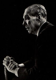 Borges todo el año: Jorge Luis Borges: La lluvia - Foto Annemarie Heinrich, 1966