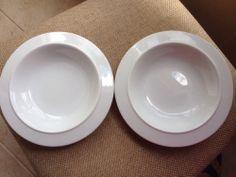 "Alessi Tendentse Salad Bowls (2) Germany Modern 8.5""  EUC #Alessi $80.49"
