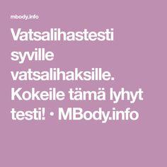 Vatsalihastesti syville vatsalihaksille. Kokeile tämä lyhyt testi! • MBody.info